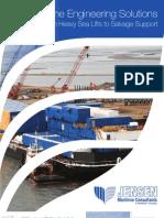 Jensen Heavy Lift Marine Engineering Brochure