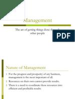 Management Intro