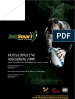 Musculoskeletal Assessment for Rugby Players