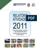 RELATORIO ATIVIDADES 2011-EMATER RIO SÃO GONÇALO
