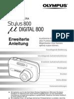 Olympud MjuD800 Stylus800 De