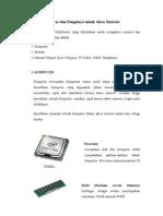 Perangkat Keras Dan Fungsinya Untuk Akses Internet