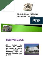 Presentacion Preescolar 2011-2012 Nov 28, 2011