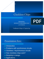 Clockless Chip