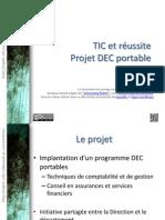 Projets DEC Portables
