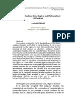 Religious Dualism - A. Floroaei