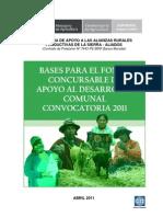 Bases Desarrollo Comunal 2011 Aliados