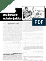 Ato dos Juristas em Defesa das Famílias Do Pinheirinho