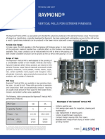 Raymond Vertical Mill Technical Datasheet
