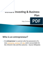 Venture Investing CBS
