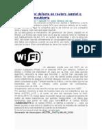 Clave WPA Por Defecto en Routers Jazztel o Telefonica Descubierta