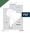 South America Political Map (1)