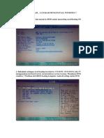Tutorial Install Windows 7 Easy Version , Nazar Rio Version