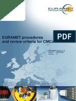 EURAMET-Guide-8 CMC Criteria