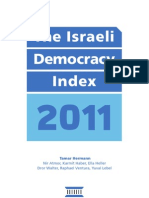 Israel Democracy Index 2011 (by Israel Democracy Institute)