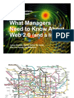 What Managers Need to Know About Web 2.0 (and a little 3)
