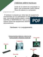 hardware e periféricos de um microcomputador