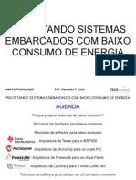 AC - do Sistemas Em Barca Dos Com Baixo Consumo de Energia - IIsemCC++pSE-1