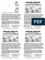 Making Worlds - 4 flyers per page version