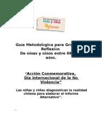 Guía metodológica No Violencia