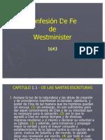 Confesion de Fe de West Minster