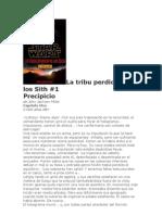 1. [5000 Aby] - La Tribu Perdida de Los Sith 1 Precipicio