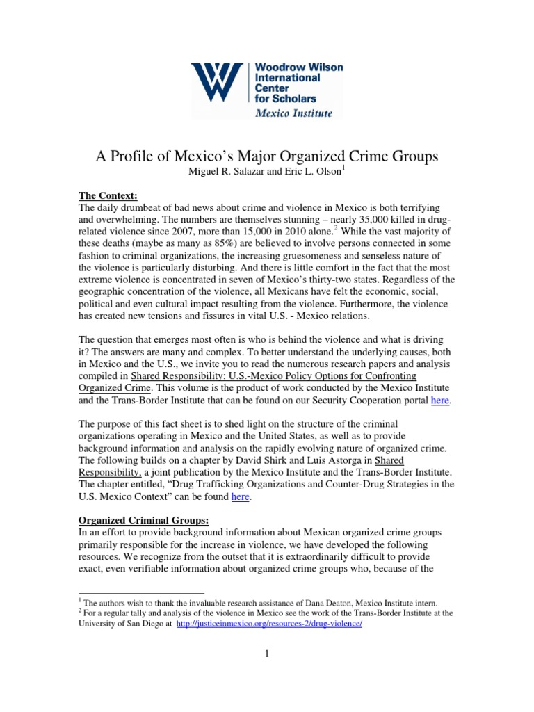 Background information on mexico - Background Information On Mexico 7