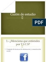 PRACTICA NO. 5 Guion de Estudio