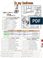 Prepositions and Bedroom