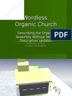 Wordless Organic Church by Greg Valentine