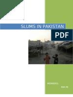 Slums in Pakistan