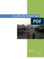 Slums in Pakistan