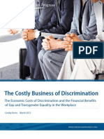 The Costly Business of Discrimination