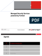 Managed Security Services by Fortinet