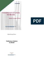 OLIVEN Ruben Violencia e Cultura No Brasil
