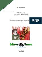 Cioran, E.M. - Breviario de Los Vencidos