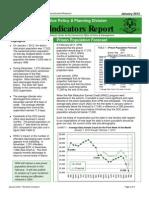 Monthly Indicators Report January 2012pdf