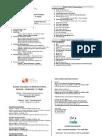 Folheto 5ª edição curso a. medicina estética do panda