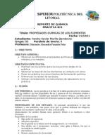 Practica 1 Lab Quimica General 1 ESPOL