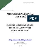 Las Misiones salesianas del Perú