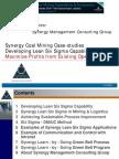 B Boyle Synergy Lean Six Sigma Case Studies Sep 09