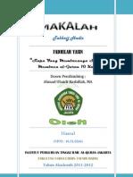 Takhrij_Fadhilah Yasin [Membacanya Seperti Membaca al-Quran 10 Kali] PDF