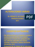 Dr. Ali cuerposextrañosESFM2011