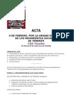 ACTA 4 de FEBRERO Colectivos Unidad Accion