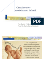 Crescimento e Desenvolvimento da Criança