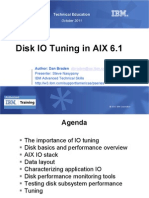 AIX Disk IO Tuning 093011