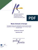 Music Schools in Europe