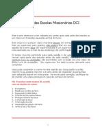 Exame das Escolas Missionárias DCI