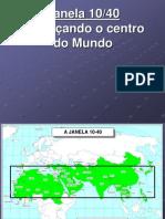 Mapas Missionários Janela 10-40