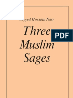 Seyyed Hossein Nasr Three Muslim Sages